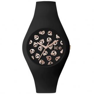 Ice-Watch ICE.SK.BK.S.S.15 ICE SKULL Black Small Uhr Damenuhr schwarz