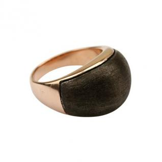 Quoins Damen Ring By Q Exclusive rose/dunkelgrau 58 (18.5)