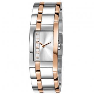 Esprit ES000J42083 LA houston two tone rosegold Uhr Damenuhr silber
