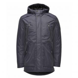 Jack & Jones Winter Jacke Herren WAD Parka Winter Jacket Blau Gr. M