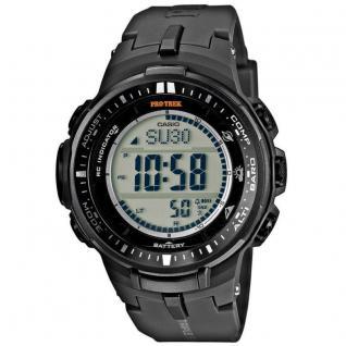 CASIO PRW-3000-1ER PRO TREK Uhr Herrenuhr Resin Datum Alarm grau