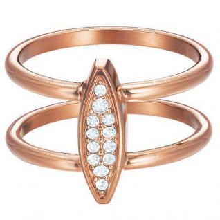 Esprit Damen Ring esprit-jw50031 Rose Edelstahl Zirkonia 56 (17.8)