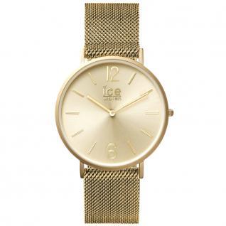 Ice-Watch 012704 CITY milanese gold matt medium Uhr Damenuhr gold