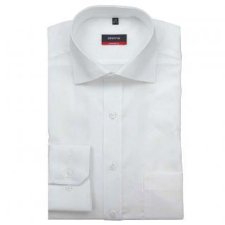 Eterna Herrenhemd Langarm 1100/00/X187 Modern Fit Weiß Gr. M/39