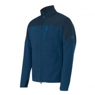 Mammut Softshell Jacke Übergangsjacke Herren Ultimate Jacket Blau XXL