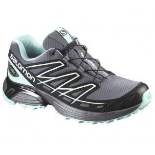 Salomon Damen Schuhe Wings Flyte GTX W Gr 40 2/3 Sportschuhe Grau