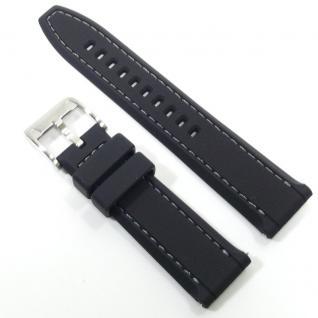 Fossil Uhrband LB-AM4357 Original AM 4357 Kautschuckband 22 mm