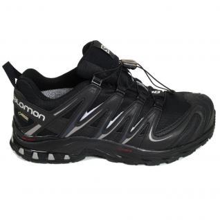Salomon Herren Schuhe XA Pro 3D GTX Schwarz 366786 Trail Schuhe Gr. 42