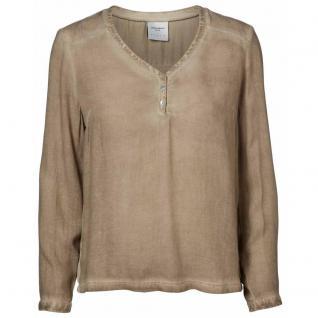 Vero Moda Damen Bluse Blusenshirt NANNA L/S Top Beige Gr. M