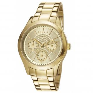 Esprit ES107802006 julia multi gold Uhr Damenuhr Edelstahl gold