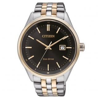 Citizen BM7256-50E Sports Eco Drive Uhr Herrenuhr Datum bicolor