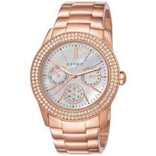 Esprit ES103822014 peony rosegold Uhr Damenuhr vergoldet Datum rose