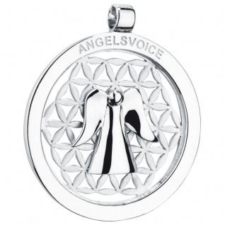 Angelsvoice AA-1008 Damen Anhänger Engel der Erkenntnis Silber