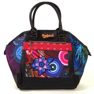 Desigual MONACO DIVERDELIX Schwarz 47X5183-3053 Handtasche Tasche