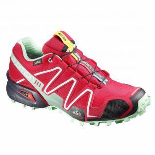 Salomon Damen Schuhe Speedcross 3 GTX W Pink Sportschuhe Gr 38 2/3