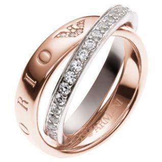 Emporio Armani EG3123 Damen Ring Silber rosé 60 (19.1)