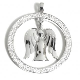 Angelsvoice AA-1013 Damen Anhänger Engel des Reichtums Silber