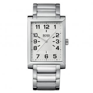 Hugo Boss 1512356 Uhr Herrenuhr Edelstahl Datum Silber