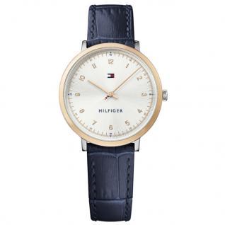 Tommy Hilfiger 1781764 PIPPA Uhr Damenuhr Lederarmband Blau