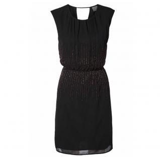 Vero Moda Damen Kleid Partykleid LIVA SL Short Dress Schwarz Gr. M