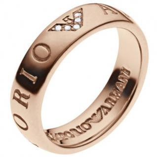 Emporio Armani EG3146 Damen Ring Silber rosé 56 (17.8)