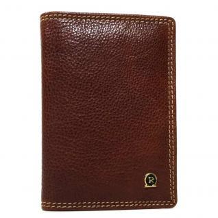 Rogner Herren Kreditkartenetui Kartenetui Braun ZD-11