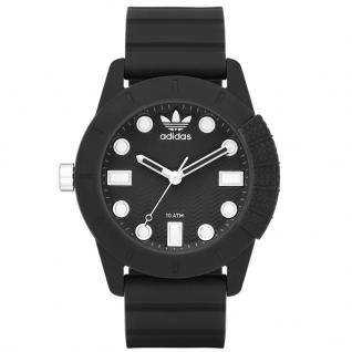 Adidas ADH3101 Uhr Herrenuhr Kautschuk schwarz