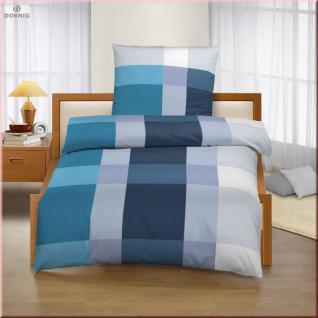 blau wei karierte bettw sche g nstig online kaufen yatego. Black Bedroom Furniture Sets. Home Design Ideas
