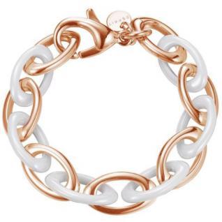 Esprit ESBR11432C210 Damen Armband pure ceramic white rose rose 21 cm