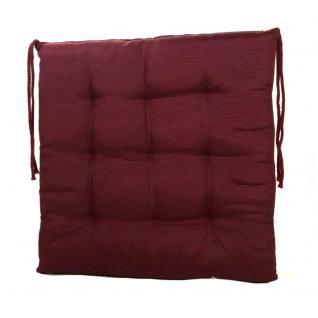 stuhlkissen rot g nstig sicher kaufen bei yatego. Black Bedroom Furniture Sets. Home Design Ideas