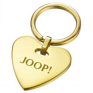Joop JPZZ10132C000 Damen Schlüsselanhänger Herz Travel Key Affection