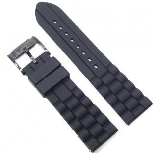 Fossil Uhrband LB-FS4487 Original FS 4487 Kautschuckband 24 mm