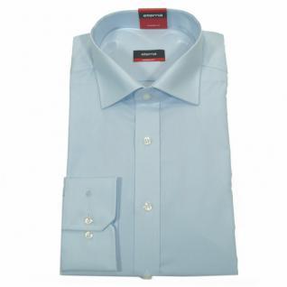 Eterna Herrenhemd 1100/10/X177 Modern Fit Hellblau Gr. M/40