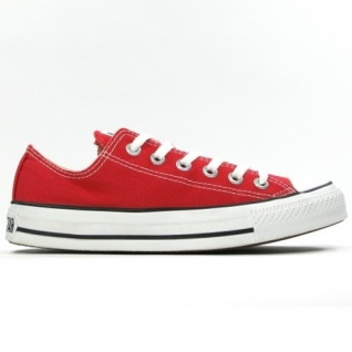 Converse Herren Schuhe All Star Ox Rot M9696 Chucks Sneakers Gr. 43