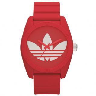 Adidas ADH6168 SANTIAGO Uhr Herrenuhr Kautschuk rot