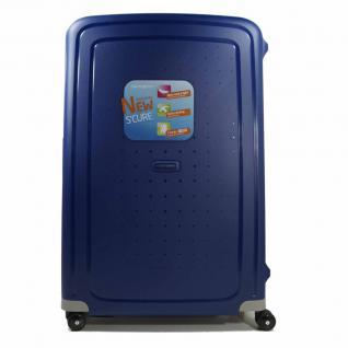 Samsonite 59244-1247 S'Cure Spinner 81cm Blau Trolley Koffer 138 L