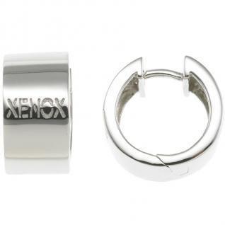 XENOX XS8546 Damen Creolen Modern Classic Silber