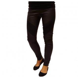 Authentic Style Damen Hose Fresh Made Leggings Schwarz Gr. S
