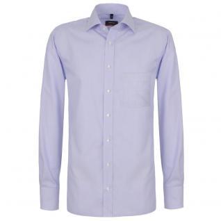 Eterna Herrenhemd Hemd Langarm Modern Fit Blau Gr. M/40 4251/10/X187