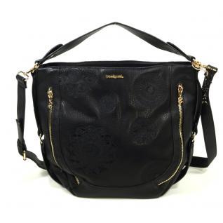 Desigual Bols Marteta New Alexa Schwarz 67X51A0-2000 Handtasche Tasche