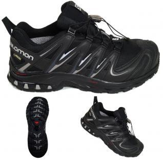 Salomon Herren Schuhe XA Pro 3D GTX Schwarz 366786 Trail Schuhe Gr. 44