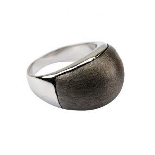 Quoins Damen Ring By Q Exclusive dunkelgrau 56 (17.8)