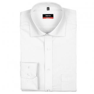 Eterna Herrenhemd Langarm 1100/00/X187 Modern Fit Weiß Gr. M/40