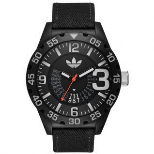 Adidas ADH3157 NEWBURGH Uhr Herrenuhr Stoffband Datum schwarz