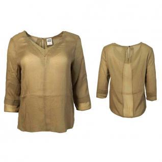 Vero Moda Damenbluse Shirt 3/4 Arm LIZA 34 Top Braun Gr. L