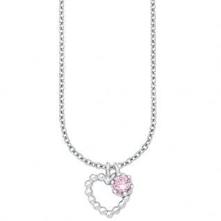 Prinzessin Lillifee PLFS/72 Mädchen Collier Herz Silber rosa 37, 5 cm
