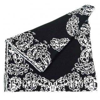 Esprit Jacquard Knitted Schwarz 113EA1Q072-E001 Schal 202 cm