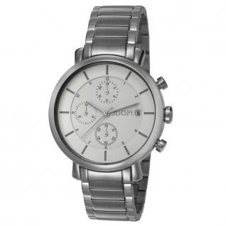 Joop JP101772004 101772 metal silver Uhr Damenuhr Chrono Datum silber