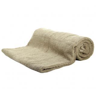 Saunatuch Sand Frottee Baumwolle 500g/m2 Handtuch 80 x 200 cm