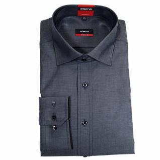 Eterna Herrenhemd Langarm 8100/39/X177 Modern Fit Grau Gr. M/40